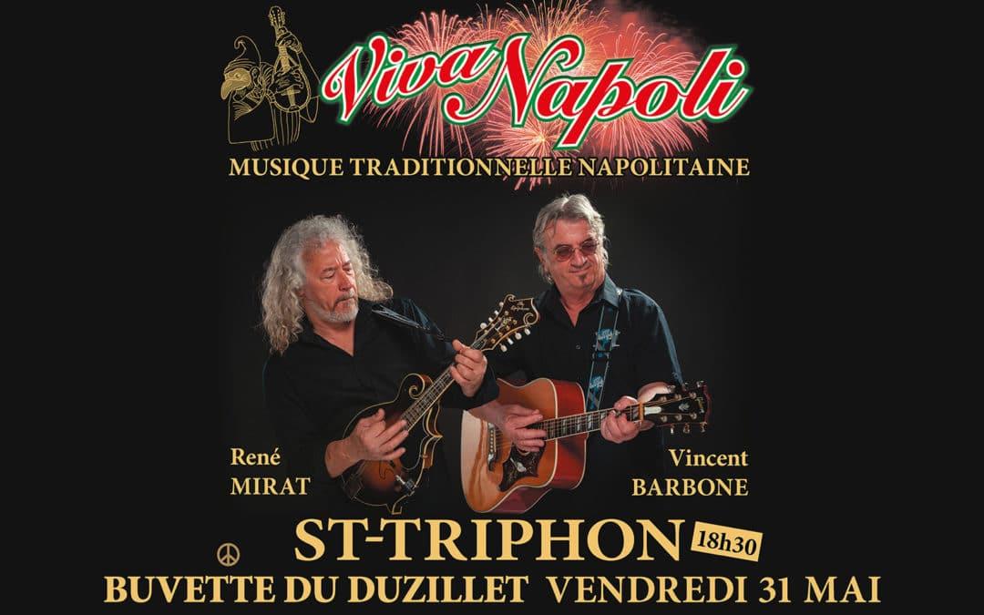 Viva Napoli! Vincent Barbone et René Mirat en concert au Duzillet le 31 mai 2019
